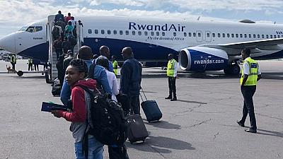 Axe Kigali - Kinshasa : la compagnie Rwandair a effectué son vol inaugural