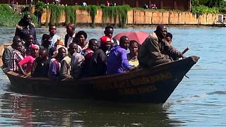 DR Congo president: 142 missing, 13 dead in Lake Kivu boat accident