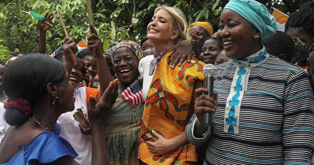 Multimedia: Ivanka's incredible Ethiopia, wonderful Ivory Coast trips