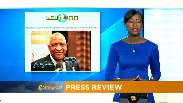 Mali : le Premier ministre rend sa démissionne [Revue de presse]