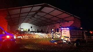 South Africa church collapses during Passover: 13 killed, 16 injured