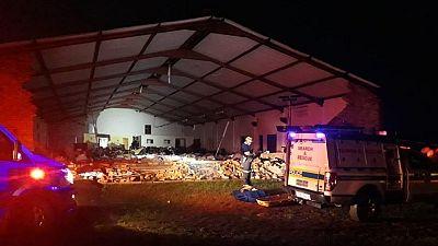 Au moins 13 morts dans l'effondrement du toit d'une église en Afrique du Sud