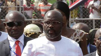 Liberia President forced out of office by snakes — George Weah