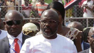 Liberia : le président Weah forcé de travailler à la maison à cause de serpents dans ses bureaux