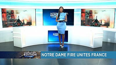 Notre-Dame fire unites France [International Edition]