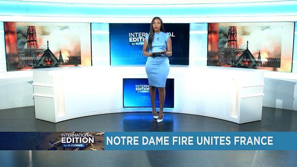 Notre-Dame fire unites France [International Edition]