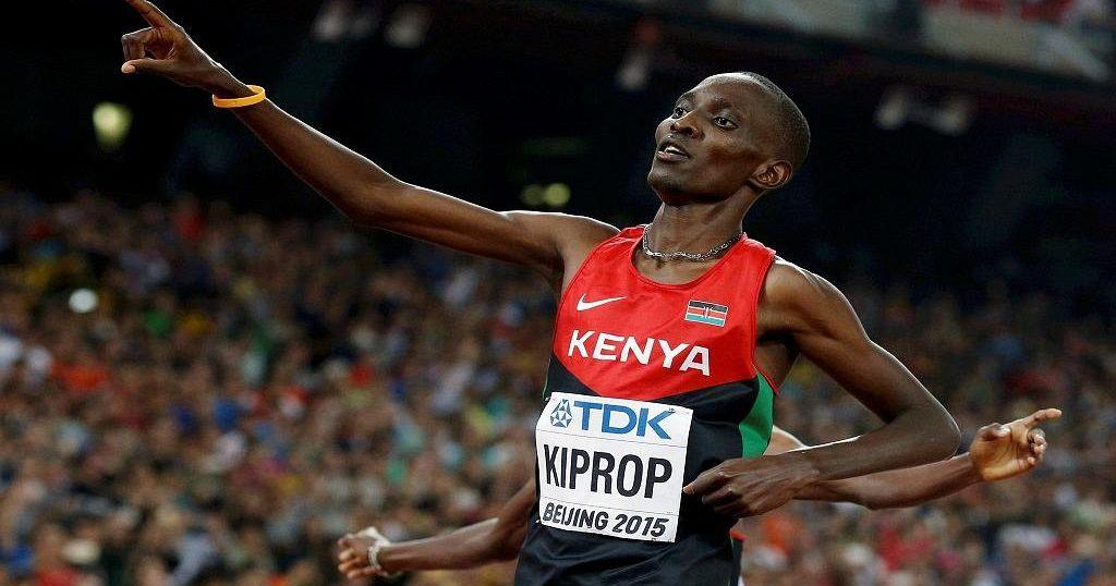 Kenya's Former Olympic 1500 Metres Champion Asbel Kiprop