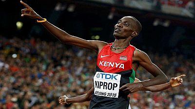 Athlétisme - Kenya : 4 ans de suspension pour Kiprop