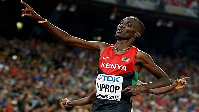 Kenya's former olympic 1500 metres champion Asbel Kiprop banned four years for doping