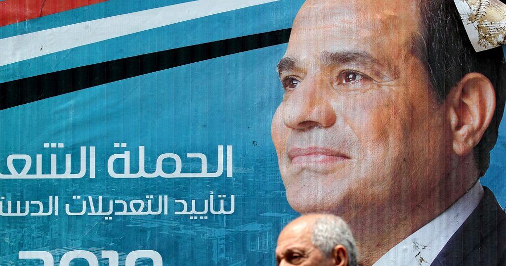 Egypte : la révision constitutionnelle prolongeant la présidence Sissi approuvée
