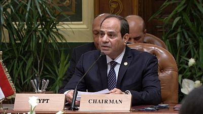 Abdel Fatah Al-Sissi appelle à des négociations en Libye