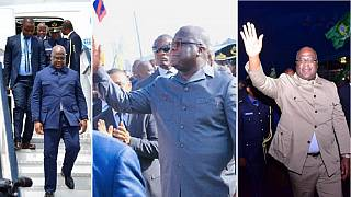 DRC president Tshisekedi's unbuttoned suits: Style or sly? [Photos]