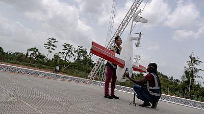 Au Ghana, des drones pour assurer la livraison de sang et médicaments