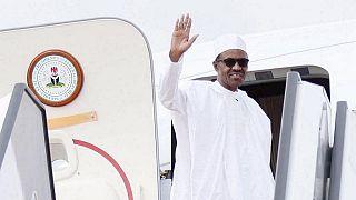"""Le président nigérian en """"visite privée"""" en Grande-Bretagne"""