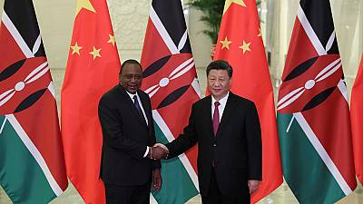 Kenyatta meets Chinese President over $3.6 bn loan