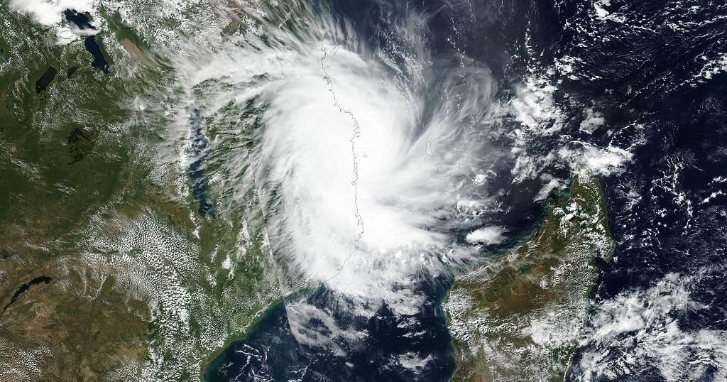 Storm hits Mozambique again, cyclone Kenneth