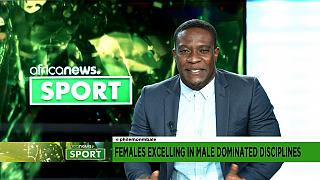 Females excelling in male dominated disciplines  [Sports on the Morning Call]