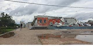 """Le cyclone """"kenneth"""" tue 5 personnes au Mozambique"""