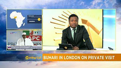 Nigerian President Mohammadu Buhari on holiday in UK [The Morning Call]