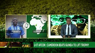 U-17 AFCON: Cameroon beats Guinea to lift trophy [Football Planet]