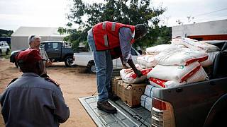 Rain grounds Mozambique aid flights as cyclone death toll rises