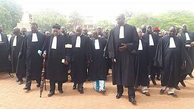 Burkina : des avocats dénoncent le blocage de l'appareil judiciaire