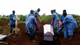 DRC: Record 26 Ebola deaths in single day