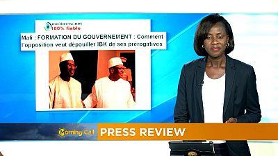 Toujours pas de gouvernement au Mali [Revue de presse]