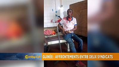 Factions of labour unions clash in Guinea [Morning Call]