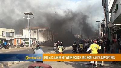 Violent protests in Benin over parliamentary election [Morning Call]