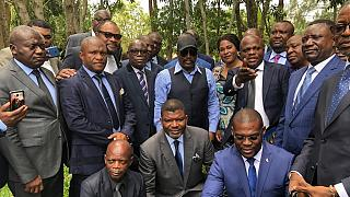 Kabila meets new DRC governors, rallies support for Tshisekedi alliance