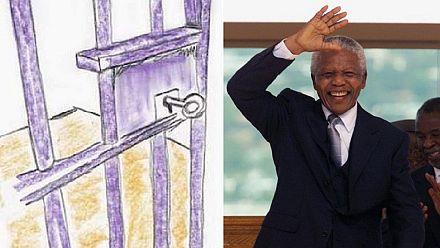 Un tableau signé Nelson Mandela vendu 112.575 dollars à New York