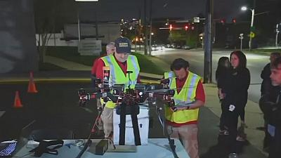 Watch: Drone makes succesful delivery of kidney for transplant operation