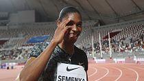 Athlétisme : malgré la polémique, Semenya impressionnante sur le 800 m de Doha