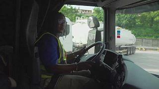 Ghana : ces conductrices de camions