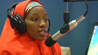 Nigerian radio host defies threats from Boko Haram by staying on air