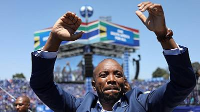 South Africa's main opposition DA urge voters to ditch ruling ANC