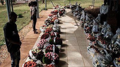 Rwanda : digne inhumation des victimes du génocide, 25ans après le massacre