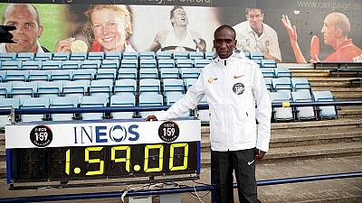Kenya's Kipchoge aims to break sub 'two-hour' marathon time