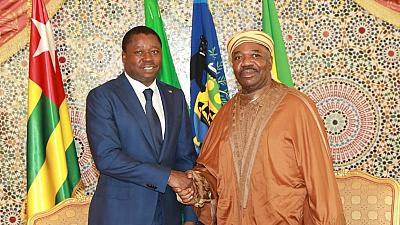 Togolese and Gabonese presidents meet in Libreville