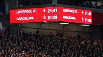 """C1 : Liverpool réussit son """"come back"""" contre Barcelone (4-0) et se qualifie pour la finale"""