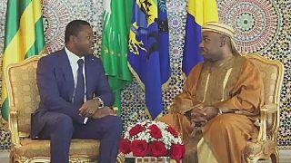 Gabon : le président Ali Bongo reçoit Faure Gnassingbé à Libreville