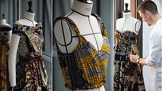 Twitter users 'mock' French designer Dior over African wax prints