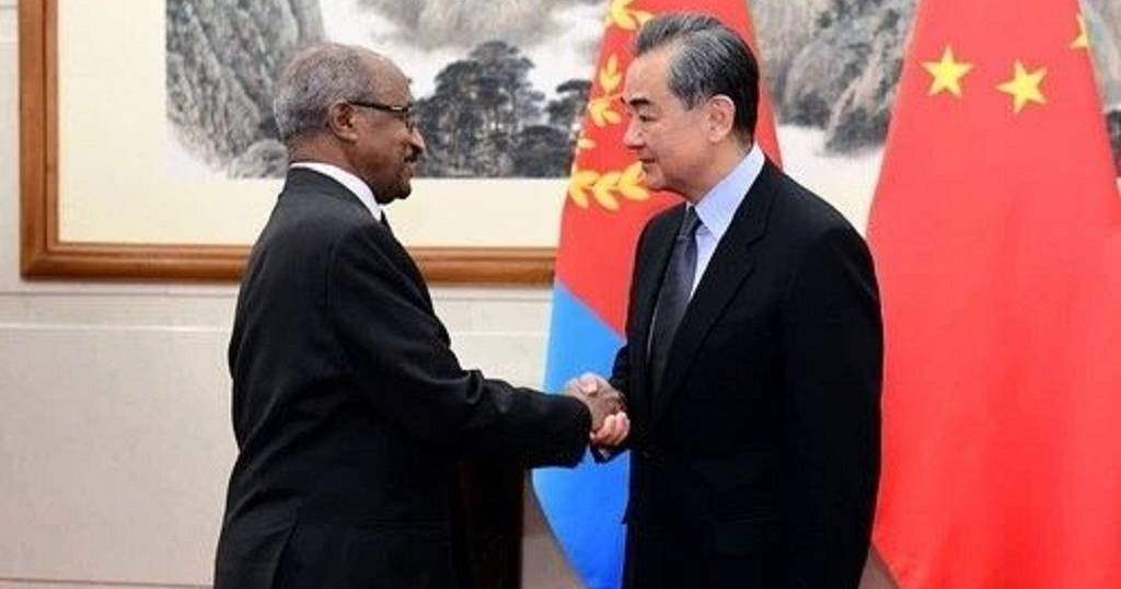 Eritrea, China commit to building mutually beneficial relations