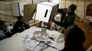 South Africa: ANC takes early lead in election results