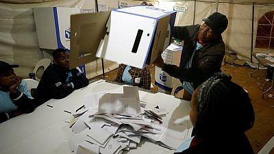 Afrique du Sud : l'ANC en tête des législatives selon des résultats partiels