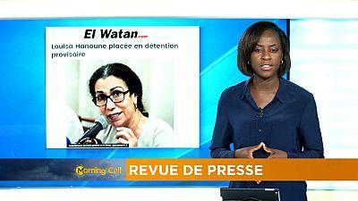 Algérie : Louisa Hanoune en détention provisoire [Revue de presse]