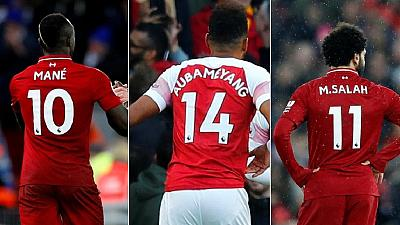 Salah, Mane, Aubameyang joint winners of EPL Golden Boot