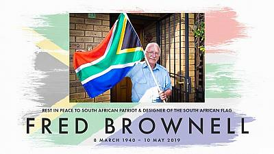 Designer of South Africa's current national flag dies aged 79
