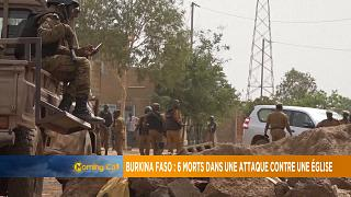 Six dead after Catholic church attack in Burkina Faso [Morning Call]